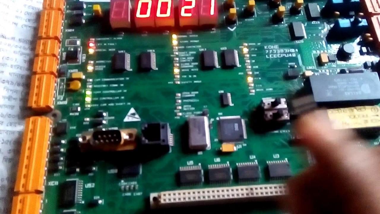 Kone lce cpu40 control board