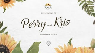Kris Bernal \u0026 Perry Choi's Wedding Ceremony LIVESTREAM By Nice Print Photo | #PerryTaleNiKris