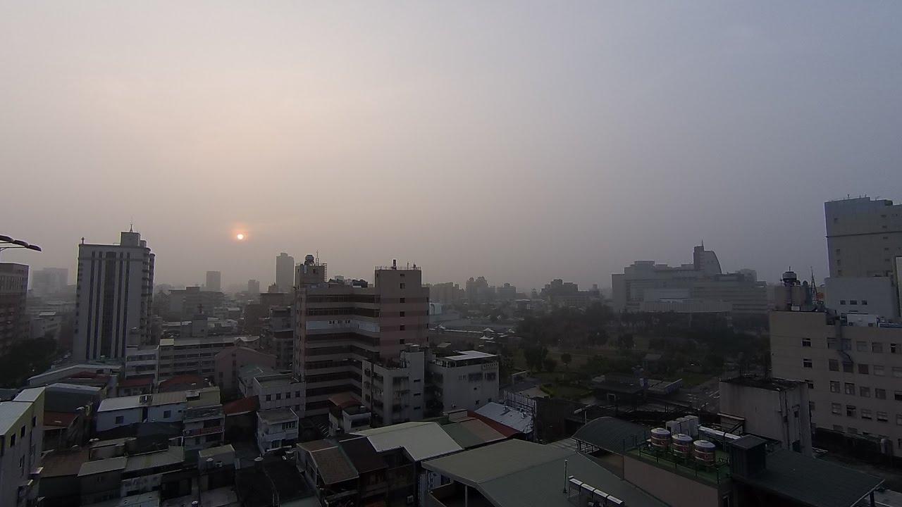 臺中市的天氣影像縮時_556 (2017年3月12日) - YouTube