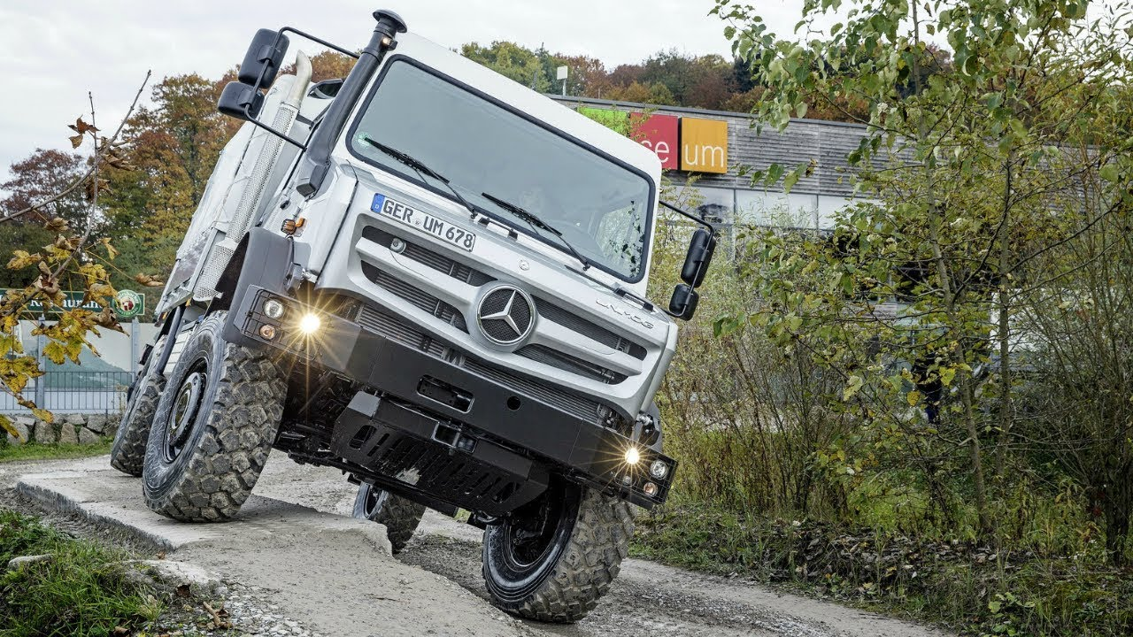 Mercedes Unimog The Most Capable Extreme Off Road 4x4 Vehicle In