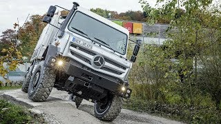 MERCEDES UNIMOG: THE MOST CAPABLE & EXTREME OFF ROAD 4X4 VEHICLE IN THE WORLD