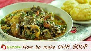 How to make Oha Soup