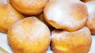 Рецепт пончиков Пышные Вкусные Объедение
