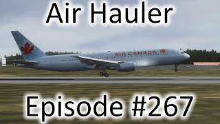 FSX | Air Hauler Ep. #267 - Zaragoza to Tarbes | 767-300