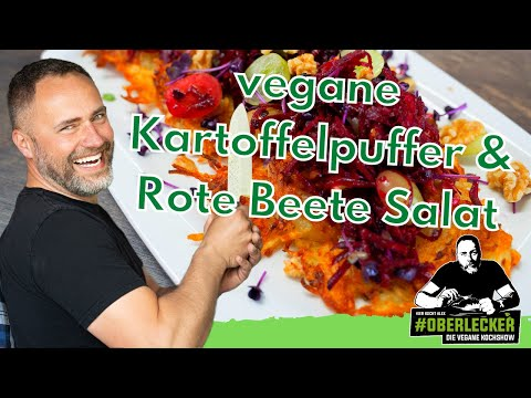 kartoffelpuffer-mit-rote-beete---traubensalat.-vegan,-saisonal,-regional-&-oberlecker!!!