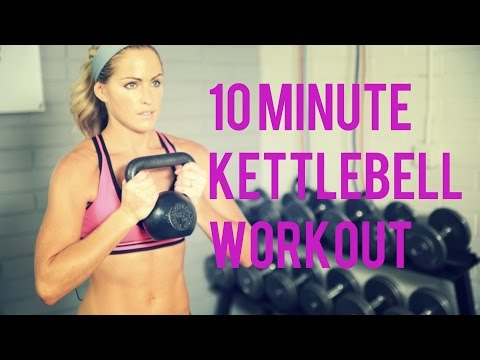10 Minute Kettlebell Workout for an efficient Total Body Workout