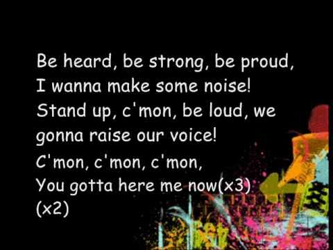 Here We Go Lemonade Mouth Lyrics