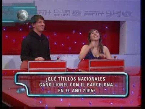 Lionel Messi ESPN+ Club de Fans