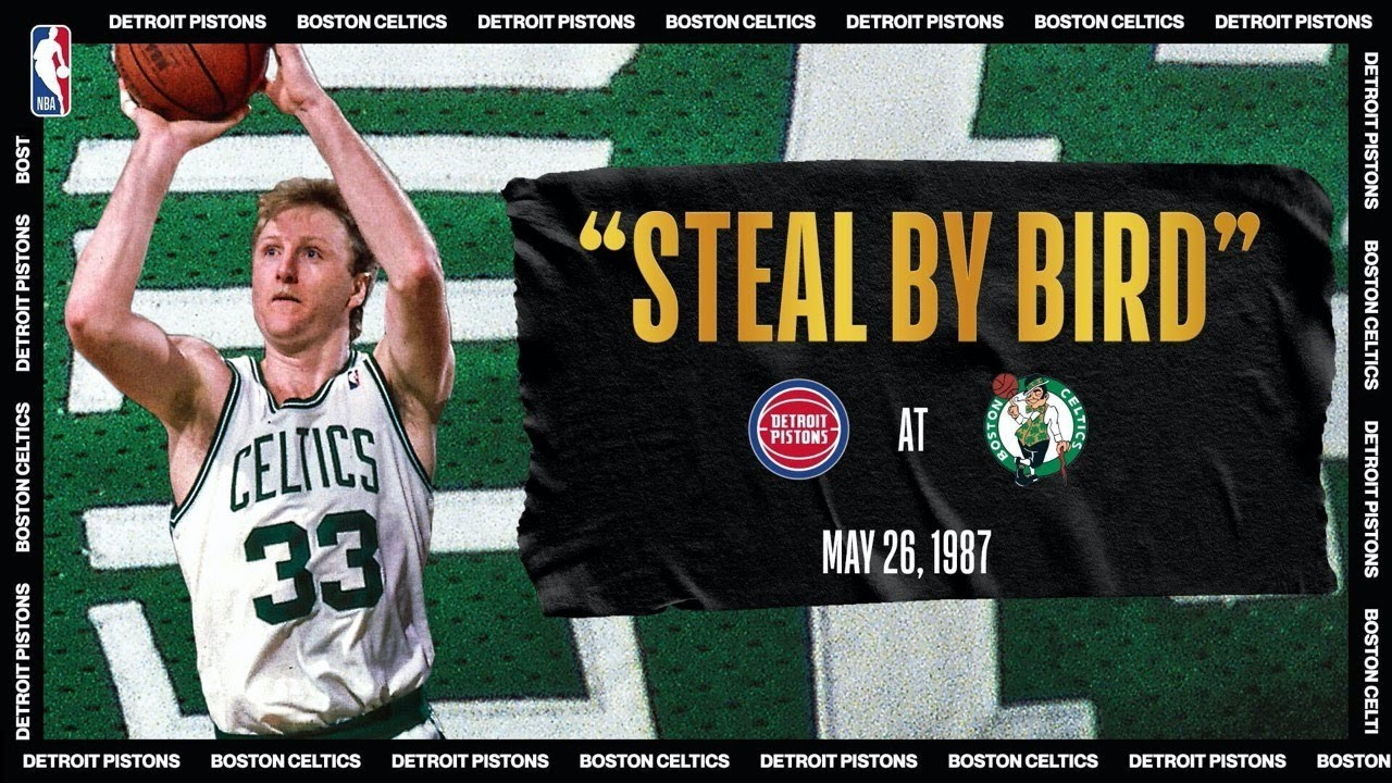 Larry Bird Comes Up Clutch To Take Series Lead | #NBATogetherLive Classic Game