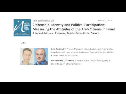 Citizenship, Identity & Political Participation Measuring Attitudes of Arab Citizens in Israel