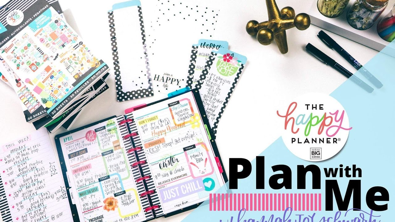 Plan With Me! The MINI Happy Planner® // Feat: Hannah Joy!