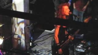 "Melissa Auf der Maur ""Lightning Is My Girl"" London gig 21/04/2010"
