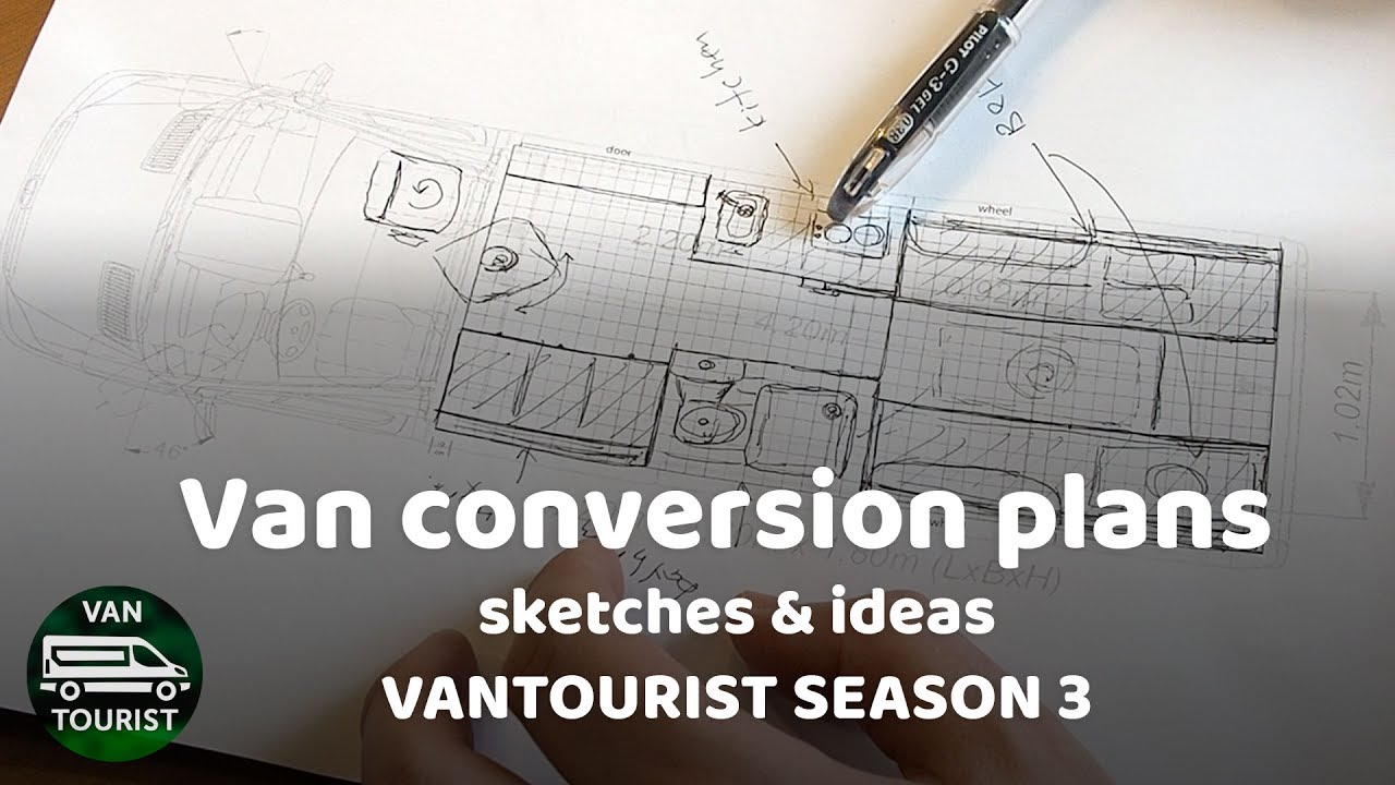 Van Conversion Floor Plans And Ideas
