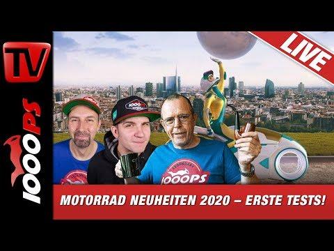 Motorrad Neuheiten 2020 – Erste Tests! Exklusiver Vorbericht zur EICMA mit Vauli, Zonko und Horvath