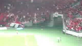 Tokyo FC 0-1 Urawa Reds (Bowing and Singing after the Game)
