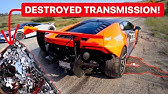 WHAT'S INSIDE A DESTROYED $30,000 LAMBORGHINI TRANSMISSION?! *TOTAL DESTRUCTION*