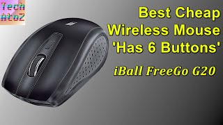 iBall FreeGo G20 Wireless Mouse Review