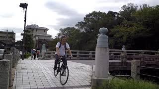 Downtown HIKONE Japan - Walking to Castle Area - Shiga Prefecture City Tour