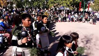 INDIGENOUS PEOPLES DAY 2019 - SANTA FE, NM Tesuque Day School Dance