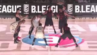 アルバルク東京vs琉球ゴールデンキングス|B.LEAGUE開幕戦 GAME2 Highlights|09.23.2016