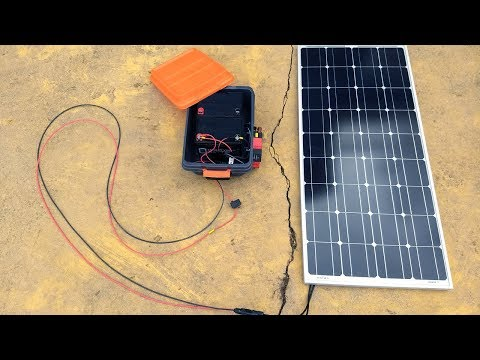 "My DIY Portable Solar Power ""Generator"" (For Vans, Camping, Off-Grid, etc. – Ammo Can Style)"