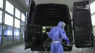 Mercedes Benz Sprinter Assembly Line Part 1