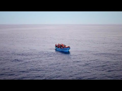 Italy: Desperate Rescue at Sea