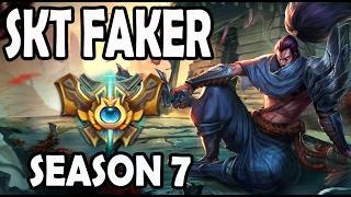 Faker YASUO vs JAYCE Challenger Korea (379 CS at 30 Minutes)