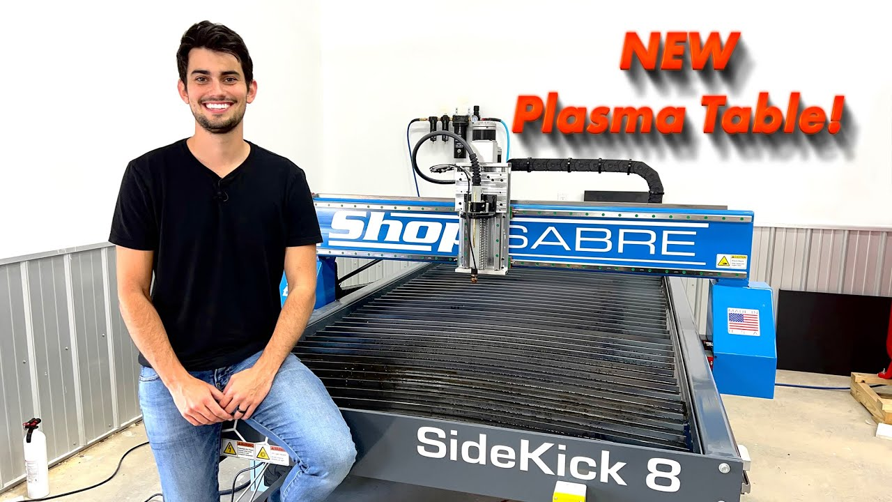 Download My First Industrial CNC Plasma Table: ShopSabre SideKick 8 (Features, Specs, and Cutting)