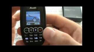 Telefono Movil LLave Audi, MP3, Bluetooth, Libre