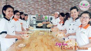 Một Buổi Lên Lớp Học Làm Bánh Pizza Cực Đơn Giản