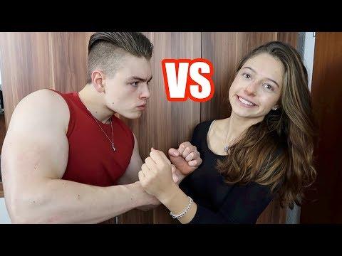 Mann VS Frau - Fitness Challenge EXTREM !!!