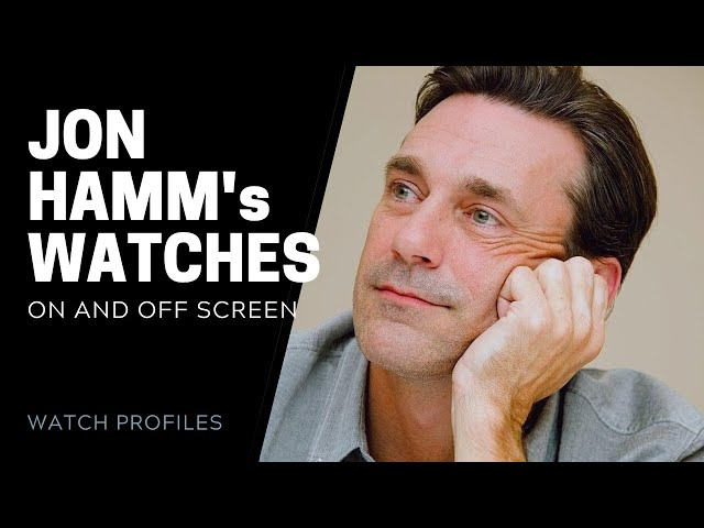 Jon Hamm's Watches, On and Off Screen   SwissWatchExpo [Watch Collection]