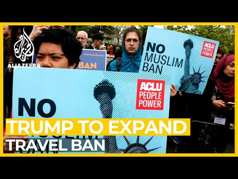 Trump Planning To Expand Controversial Travel Ban
