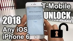 How To Unlock iPhone 6 From T-Mobile to Any Carrier