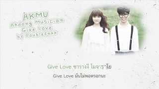 [KARAOKE-THAISUB] AKMU - Give Love