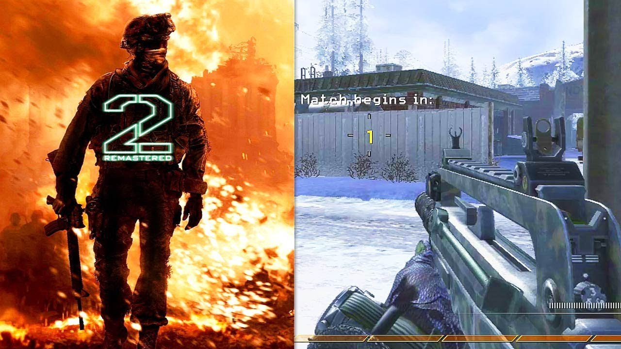 New Mw2 Remastered Bundled With Black Ops 4 Rumor Bo4