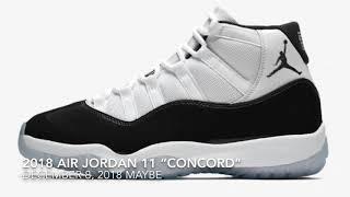 """2018 AIR JORDAN 11 """"CONCORD"""" AKA A """"MILLION"""" RUMORS"""