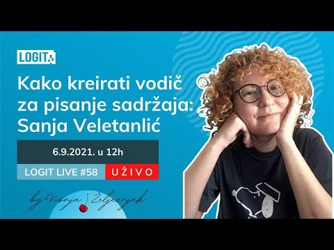Kako kreirati vodič za pisanje sadržaja: Sanja Veletanlić   LOGIT LIVE #58