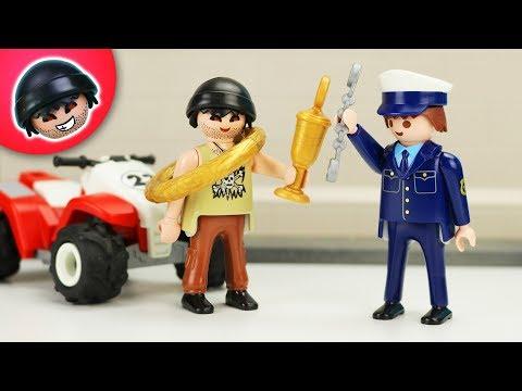 Das große Rennen! - Playmobil Polizei Film - KARLCHEN KNACK #316