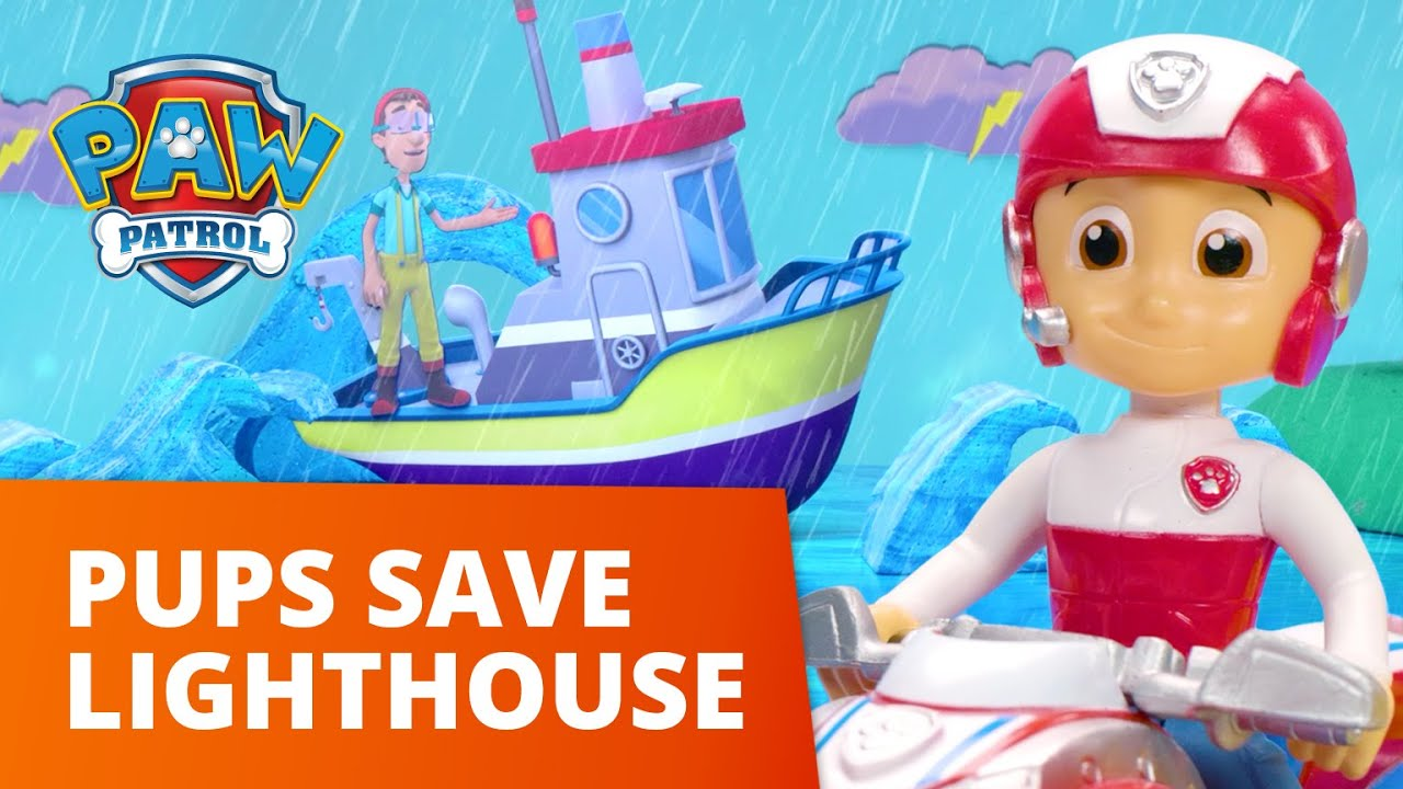 Download PAW Patrol Moto Pups - Pups Save the Lighthouse - Toy Episode - PAW Patrol Official & Friends