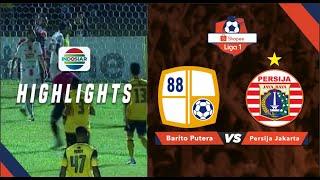 Barito Putera 1 - 1 Persija Jakarta