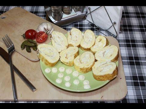 Яичный рулет с сыром. Серия Каша из топора