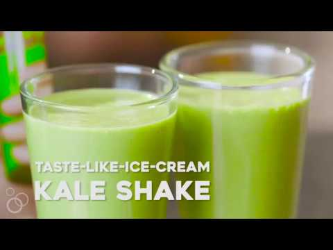 The Kale Smoothie That Tastes Like Ice Cream