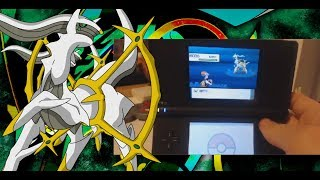 How to catch ARCEUS Hall of Origin in Pokemon Diamond/Pearl VOID GLITCH [No Action Replay]