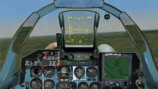 Flanker 2.5 training 22 - Searching for ground targets with radar