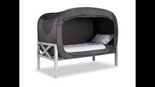 The Privacy Pop Bed Tent Gives Maximum Privacy!