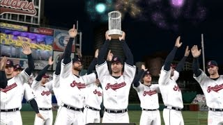 MLB 14: The Show - Cleveland Indians World Series Celebration
