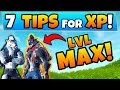 Fortnite: 7 TIPS to get DIRE to MAX Level! - How to Level up Fast in Battle Royale!