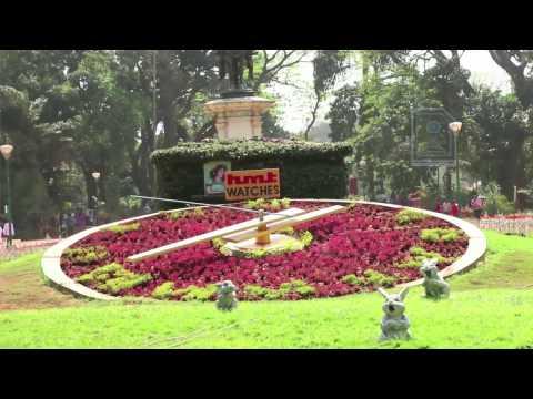 Flower Clock : Lalbagh Botanical Garden Bangalore